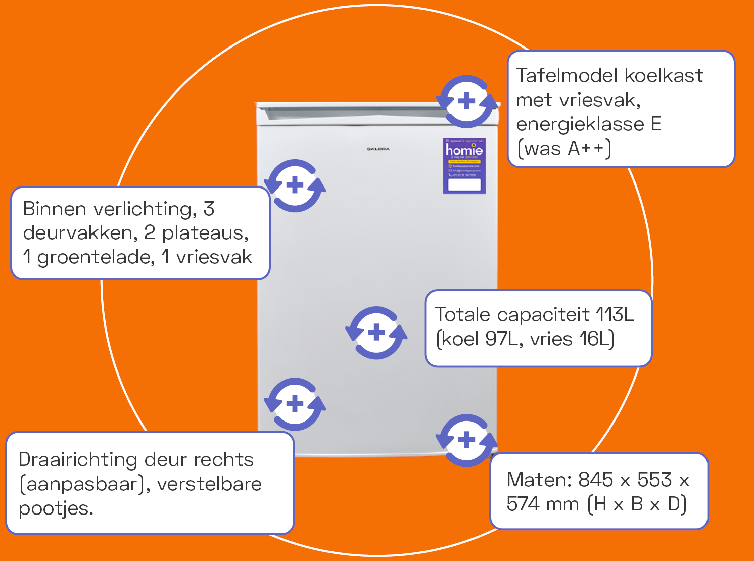 Specifications - dishwasher